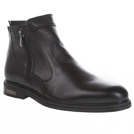 55ccc9fe5aa5 Купить Ботинки мужские Ikoc (кожаные, черные, классические, стильные ...