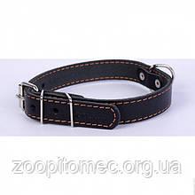 Ошейник одинарный шир.35 мм, длина 48-63 см collar