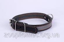 Ошейник с светоотражающей лентой шир.25 мм, длина 38-50 см collar