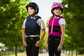 Жилет защитный для конного спорта, детский