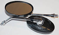Зеркала овал карбон M=10mm