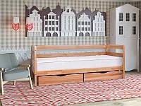 Кровать Тиана с выдвижными ящиками 80*190, орех
