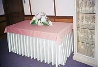Фуршетная юбка для скатерти