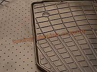 Коврики в салон резиновые Stingray 4шт. для Volkswagen Touareg 2002-2010 бежевые