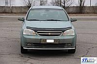 Chevrolet Lacetti Передний ус ST008 (42мм, нерж.)