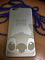 Пластиковый чехол ультратонкий Стич iPhone 6SPlus/6Plus, Stich