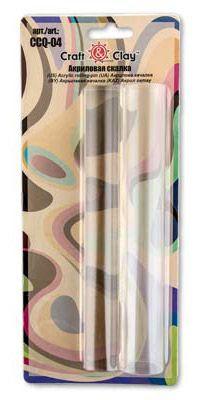 Набор 2 шт.акриловых роликов Craft&Clay 20 см (диаметр 24 и 30мм)