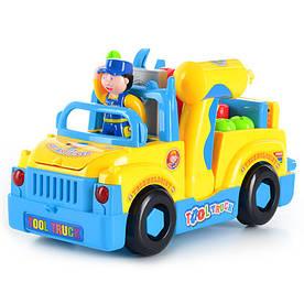 Машинка с набором инструментов, музыкальная Limo Toy 789