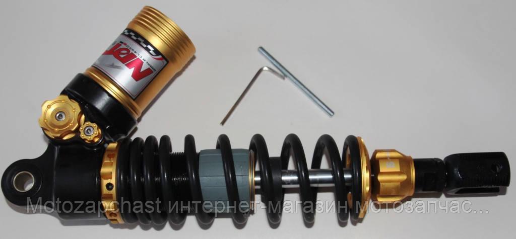 Амортизаторы одинарный с подкачкой верх d=12 mm низ M=8 mm