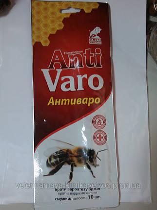 Анти Варо(полоски антипаразитарныё для ульев) 10полосок, фото 2