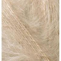 Мохеровая пряжа (100г/200м, 25%-мохер,24%-шерсть,51%-акрил) Alize Mohair Classic New 05(бежевый)