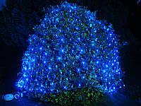 Светодиодная Сетка 150х150 см, 120 LED, белая, синяя, мультиколор, Харьков
