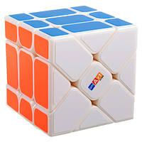 Умный кубик Фишера 3х3 белый (Smart cube) со срезанием углов