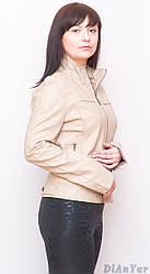 Куртка жіноча з екошкіри OS