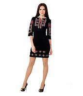 Женское вышитое платье в этническом стиле В1033