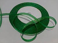 Зеленая парчовая лента