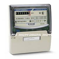 Трехфазный однотарифный электросчетчик ЦЭ 6804- U/1 220В 5-60А 3ф. 4пр. МР32