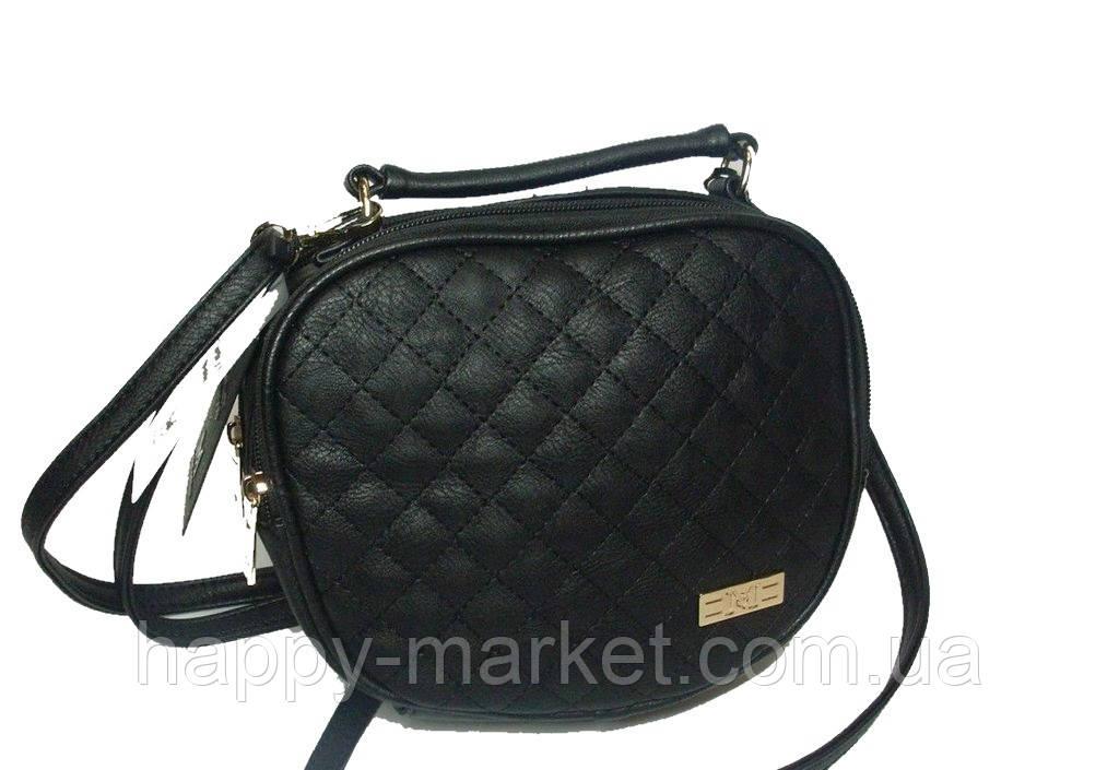 Женский клатч Chanel Черный  1001-1