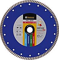 Круг алмазный отрезной 1A1R Turbo 230x2,6x9x22,23 Baumesser Stahlbeton PRO (90215080017)