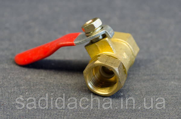 Кран шариковый для компрессора (резьба внутренняя)