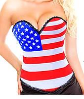 """Корсет женский утягивающий моделирующий, корсет на грудь """"Америка"""". Разные размеры и разные цвета., фото 1"""