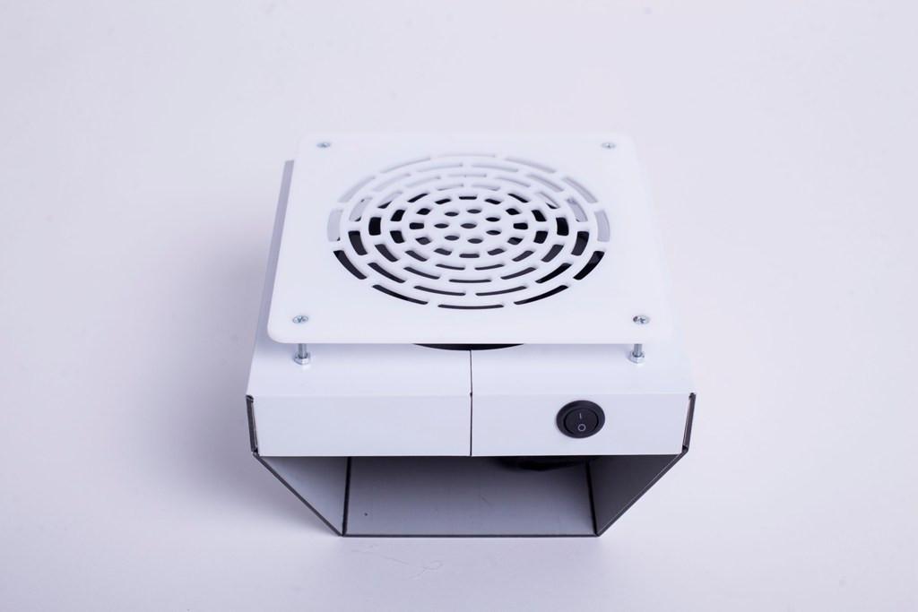 Встроенная вытяжка для маникюрного стола Dekart 3 (белая)