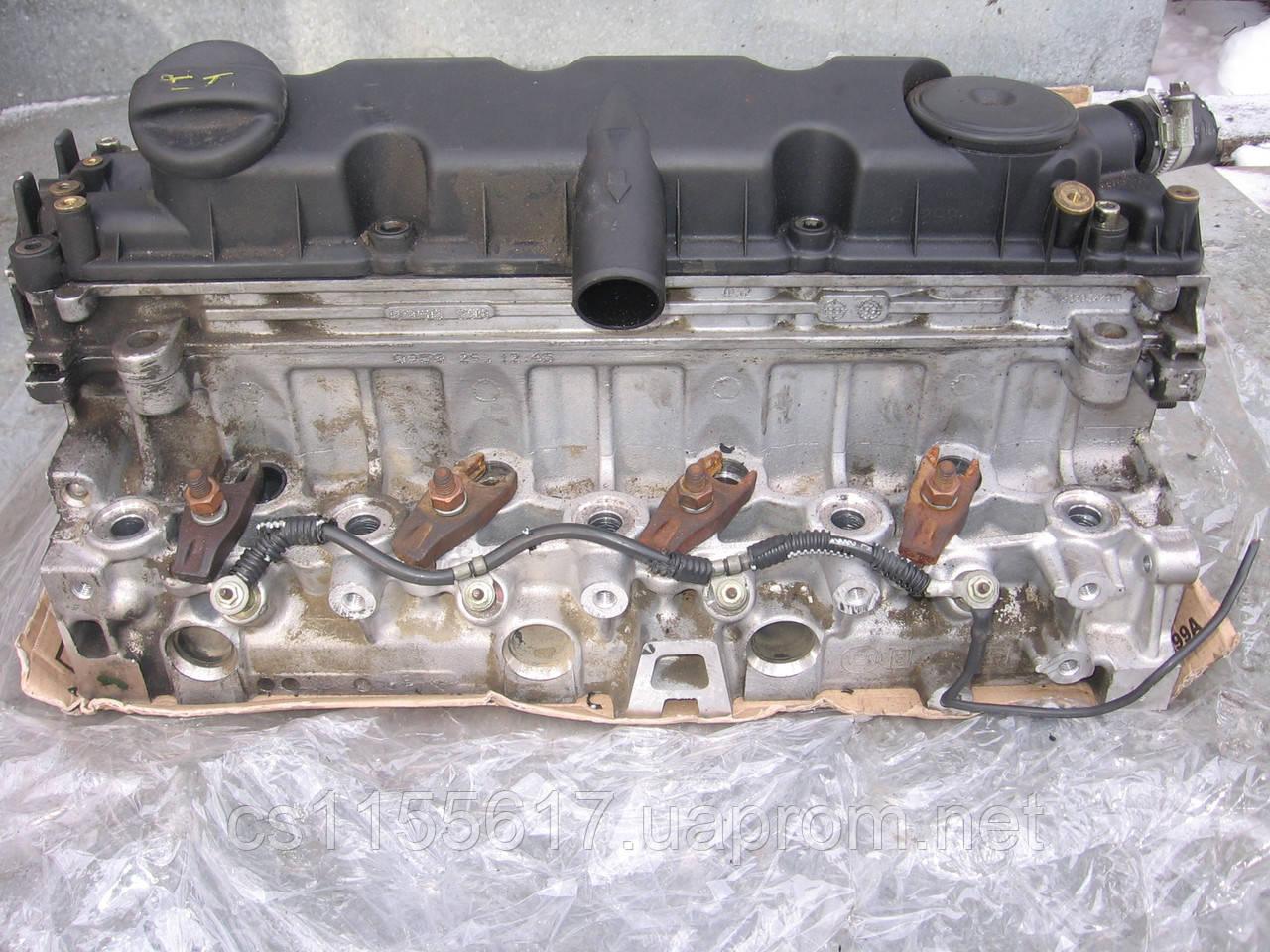 Головка блока цилиндров 9633750210 б/у 2.0JTD на FIAT: Ducato, Scudo, Ulysse; Lancia Zeta