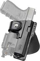 Кобура Fobus для Glock-17/22 с подствольным фонарем