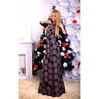 Вечернее платье в пол Цветы 2 цвета, фото 1