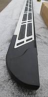 Пороги на Audi Q5 2008+ 1830 мм
