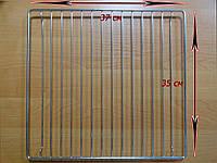 Решетка духовки  Гефест 3100, 3200 Брест 300 (37 х 35 см) используется для духовок плит шириной 50см