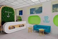 Дизайн интерьера офисов, входных групп