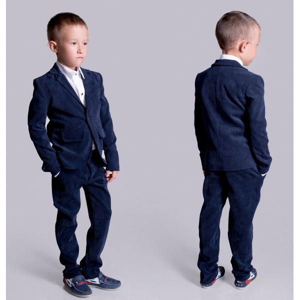 """Стильный брючный костюм для мальчика """"Вельвет"""""""