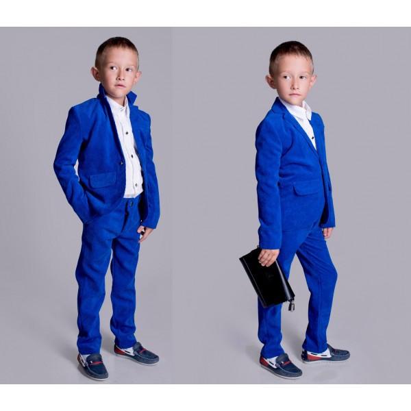 """Стильный брючный костюм для мальчика """"Вельвет"""", фото 1"""