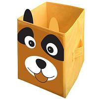 """Ящик для игрушек """"Собака"""" 2525-001 Украинская Оселя, 25*25*38"""