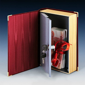 Книги-сейфы и кэшбоксы