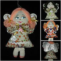 """Красивая игрушка """"Цветочный ангел"""", ручная работа, 20 см., 95/85 (цена за 1 шт. + 10 гр.)"""