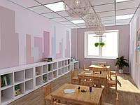 Дизайн интерьера (детская школа развития)