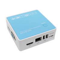 4-канальный мини NVR видеорегистратор для IP камер