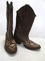 Сапожки казаки кожаные Tony Mora 36