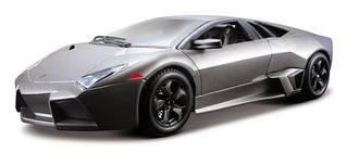 Сборная модель «Bburago» (18-25081) Lamborghini Reventon, 1:24 (серый металлик)