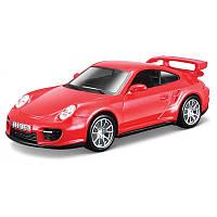 Сборная модель «Bburago» (18-45125) Porsche 911 GT2, 1:32 (красный)