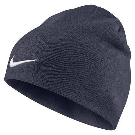 Шапка Nike Team Performance Beanie 646406-451 Темно-синий (885178802317), фото 2