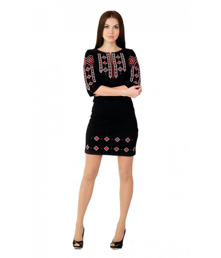 Плаття вишите жіноче М-1033 - Універмаг в Львове