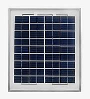 Cолнечная батарея (панель) 10Вт 12В поликристаллическая. AXIOMA energy
