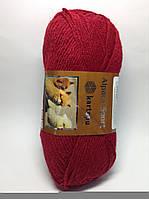 Пряжа alpaca sport kartopu - цвет вишневый