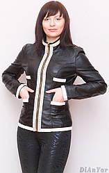 Куртка жіноча з екошкіри LANMAS
