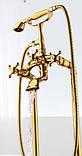 Напольная стойка для ванной комнаты со смесителем краном и лейкой, фото 2