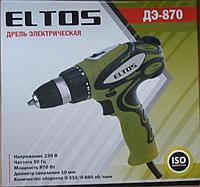 Сетевой Шуруповерт Eltos ДЕ-870