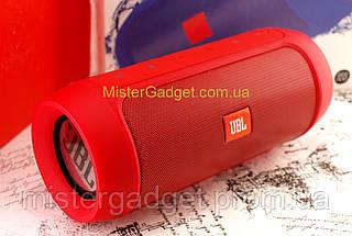Колонка беспроводная JBL Charge 2+ 15W Красная Bluetooth Mp3 MicroSD USB 6000mAh копия, фото 3